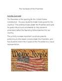The 6 Goals of the Preamble