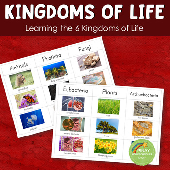 The 6 Kingdoms of Life Learning Pack (Montessori)