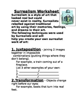 The 6 Major Surrealism Techniques