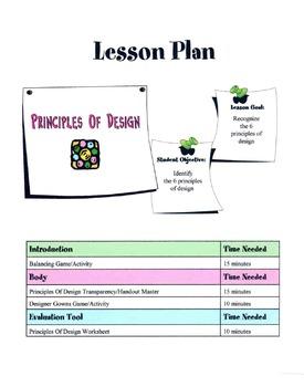 The 6 Principles Of Design Lesson