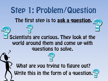 The 6-Step Scientific Method (Powerpoint)