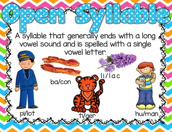 The 6 Syllable- Spelling Conventions *FREEBIE*