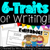 The 6 Traits of Writing Pack!