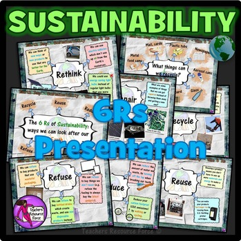 The 6Rs of Sustainability - Earth Day