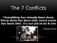 The 7 Conflicts PowerPoint Presentation