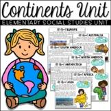 Continents Unit