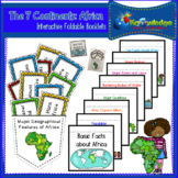 The 7 Continents: Africa Interactive Foldable Booklets