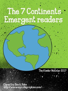 The 7 Continents Emergent Reader Printable Pack