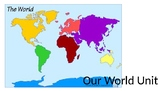 The 7 Continents PowerPoint