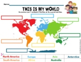 The 7 Continents Printable Activity (15 pages)