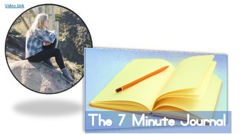 The 7 Minute Journal - Writing Prompts for Young Adults