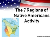 The 7 Regions of Native Americans Activity