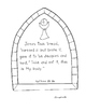 The 7 Sacraments Booklet with symbols, words, Bible verse, and poster to design