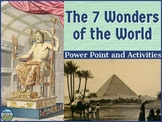 The 7 Wonders of the World Power Point and Creative Tasks