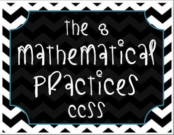 The 8 Mathematical Practices (CCSS)
