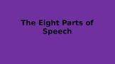 8 Parts of Speech
