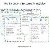The 8 Sensory Systems Printables