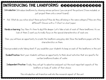 The 8th Continent {A Landform and Human-Environment Interaction Unit}