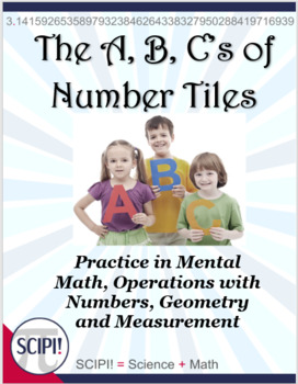 A, B, C's of Number Tiles: 26 Hands-On Problem Solving Math Puzzles