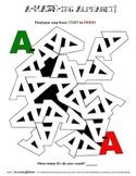 The A-MAZE-ing Alphabet