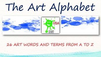 The A to Z Art Alphabet
