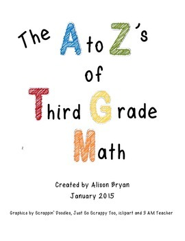 The A to Z's of Third Grade Math