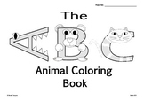 The ABC Animal Coloring Book