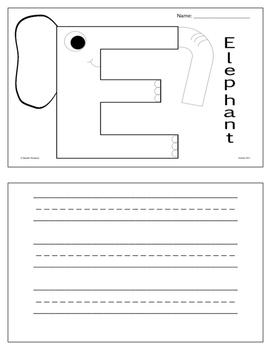 "The ""ABC"" Animal Writing Book"