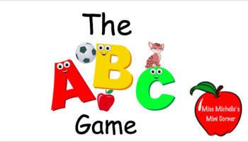 The ABC Letter Recognition Game Part 1- Pre-K Skills