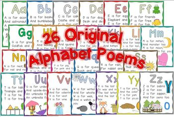 The ABC Poetry Pack ~ w/ daily Shared Reading plans {Common Core Aligned)