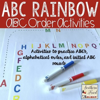 ABCs and ABC order