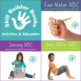 The ABC Series Bundle: Fine Motor ABC, Gross Motor ABC, Sensory ABC