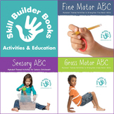 The ABC Series Bundle: Fine Motor ABC, Gross Motor ABC, Sensory ABC