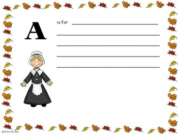 The ABC Thanksgiving Book