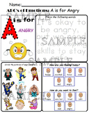 The ABC's of Feeling and Emotions Worksheet Bundle
