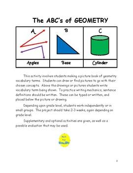 The ABC's of Geometry
