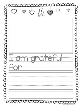 The ABC's of Gratitude: Journal and Gratitude Tree Center