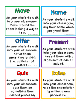 The ABC's of Greeting Students