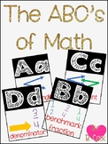 The ABC's of Mathematics