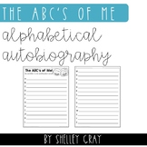 The ABC's of Me: an alphabetical autobiography