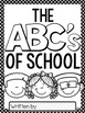 The ABC's of School ~ First Week of School Activity