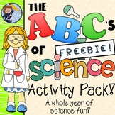 The ABC's of Science Activity Unit FREE Sample