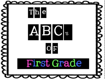 Classroom Quilt (The ABC's of our Classroom Quilt Activity)