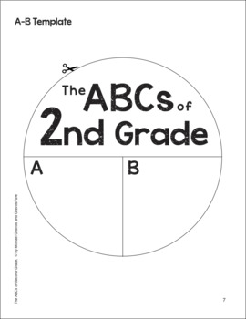 The ABCs of 2nd Grade: An End-of-the-Year Culminating Activity