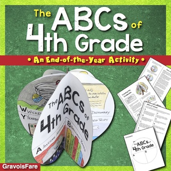 The ABCs of 4th Grade: An End-of-the-Year Culminating Activity