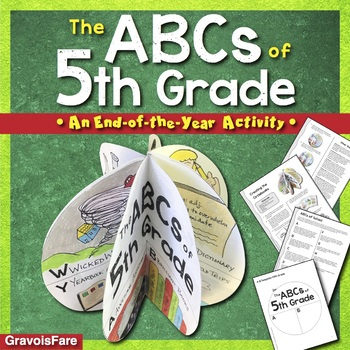 The ABCs of 5th Grade: An End-of-the-Year Culminating Activity