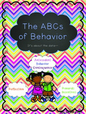 The ABCs of Behavior Resource Pack