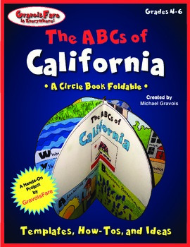 The ABCs of California: A Circle Book Foldable by GravoisFare
