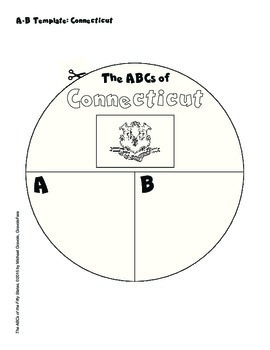 The ABCs of Connecticut: A Circle Book Foldable by GravoisFare