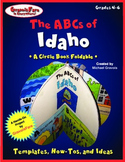 The ABCs of Idaho: A Circle Book Foldable by GravoisFare